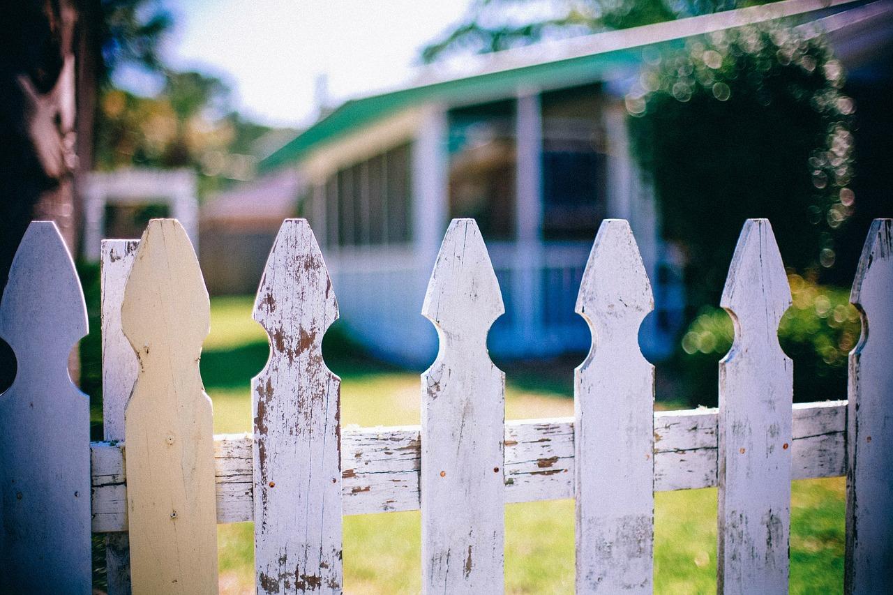 Nowoczesne ogrodzenie